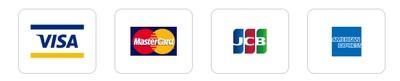 ローソンで使える4つの国際ブランド